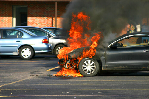 Car Accident Fires