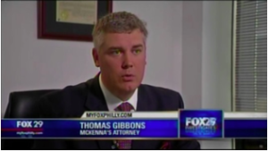 Tom Gibbons on Fox 29 News.